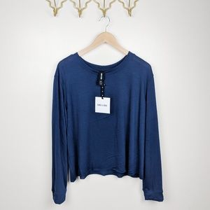 Agnes & Dora Navy Sweater Pullover